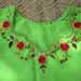 19.Needle work on the neck of shirt, 12 DNB Village, Yazman,